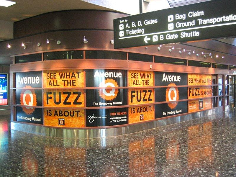 Glass Treatment - McCarran International Airport
