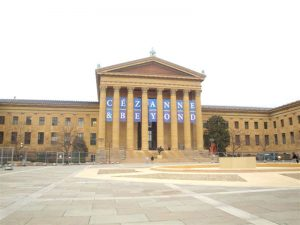 Cézanne and Beyond Exhibition Banner for Philadelphia Museum of Art