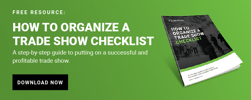 How to Organize A Trade show Checklist CTA