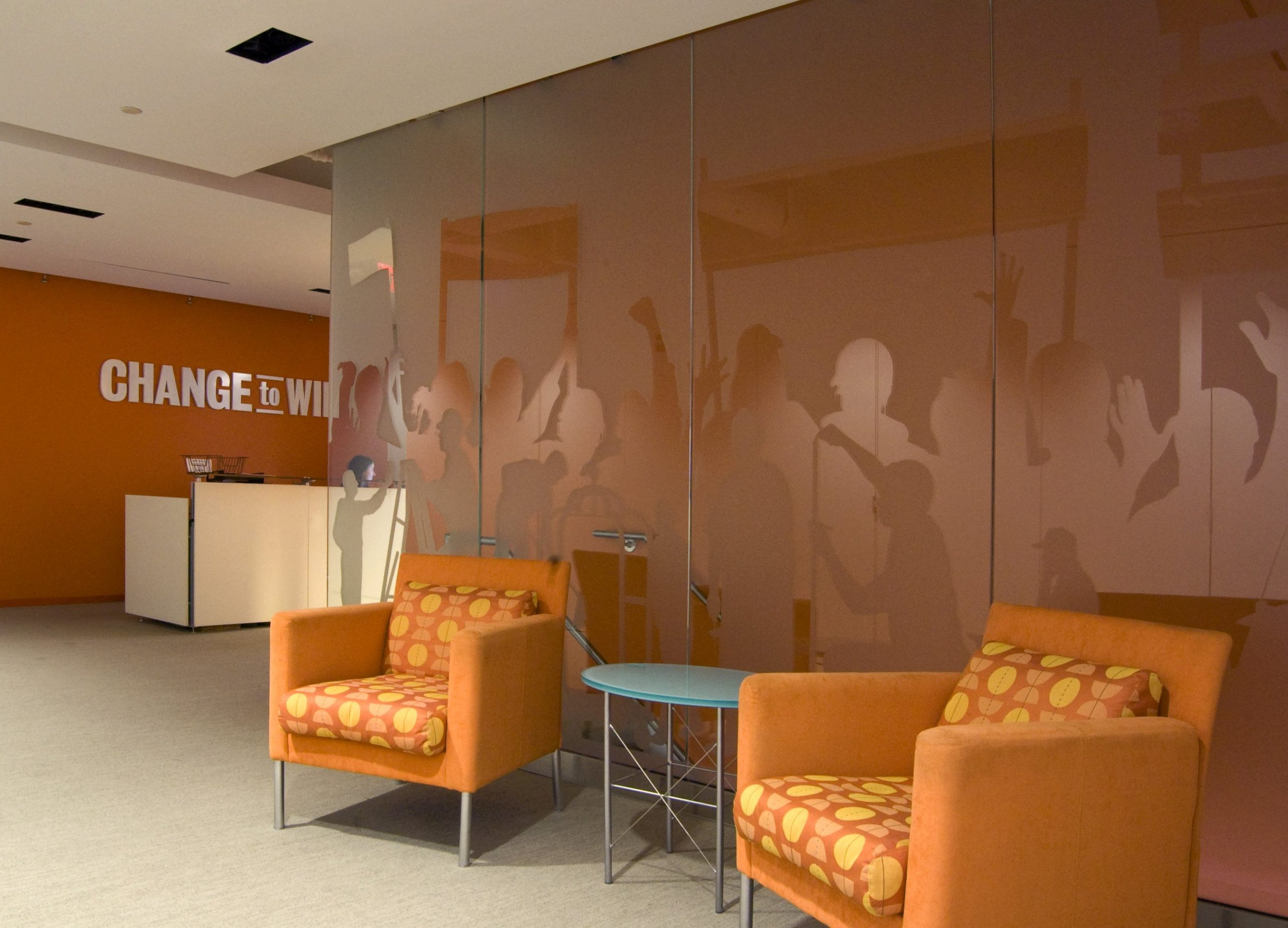 Glass Graphics for Lobby