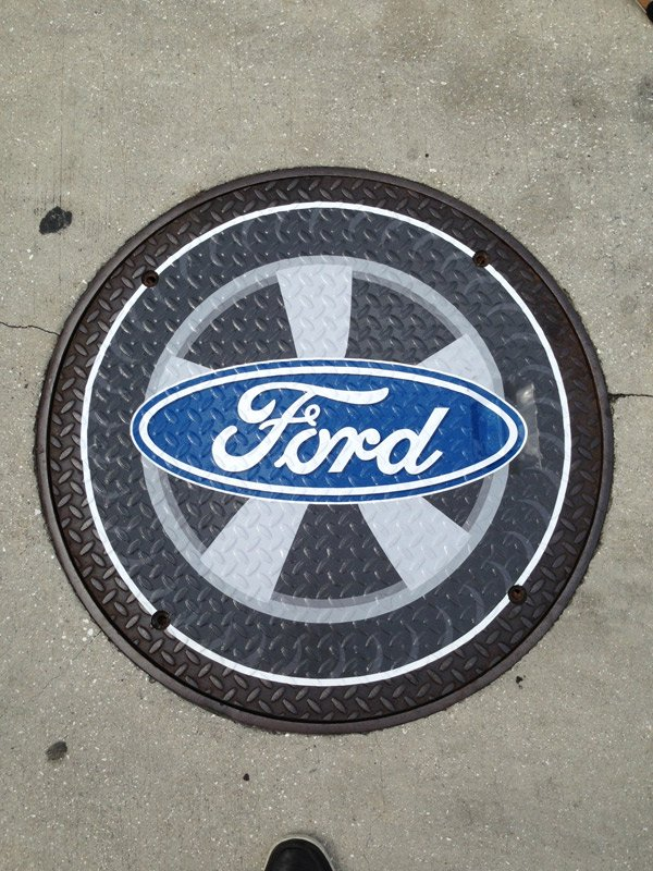 Ford floor graphic