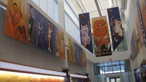 vertical sports banner