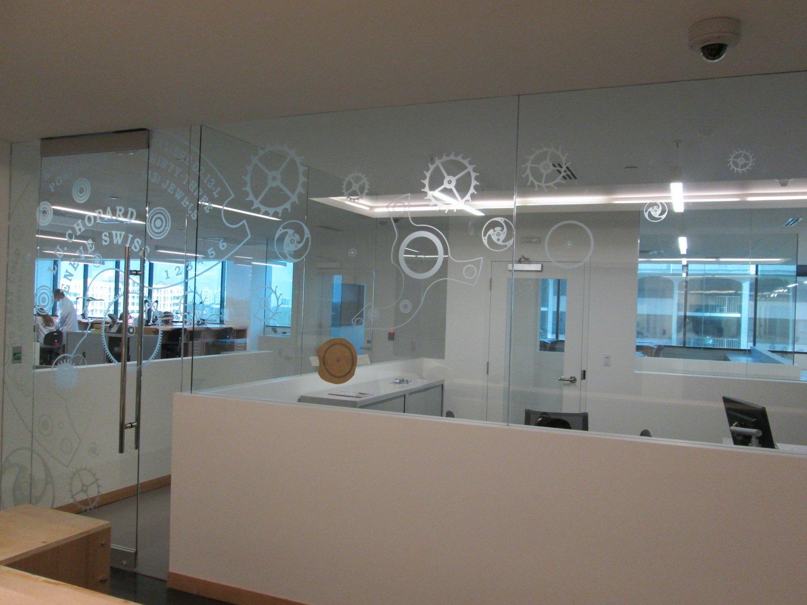 Corporate Glass Treatment
