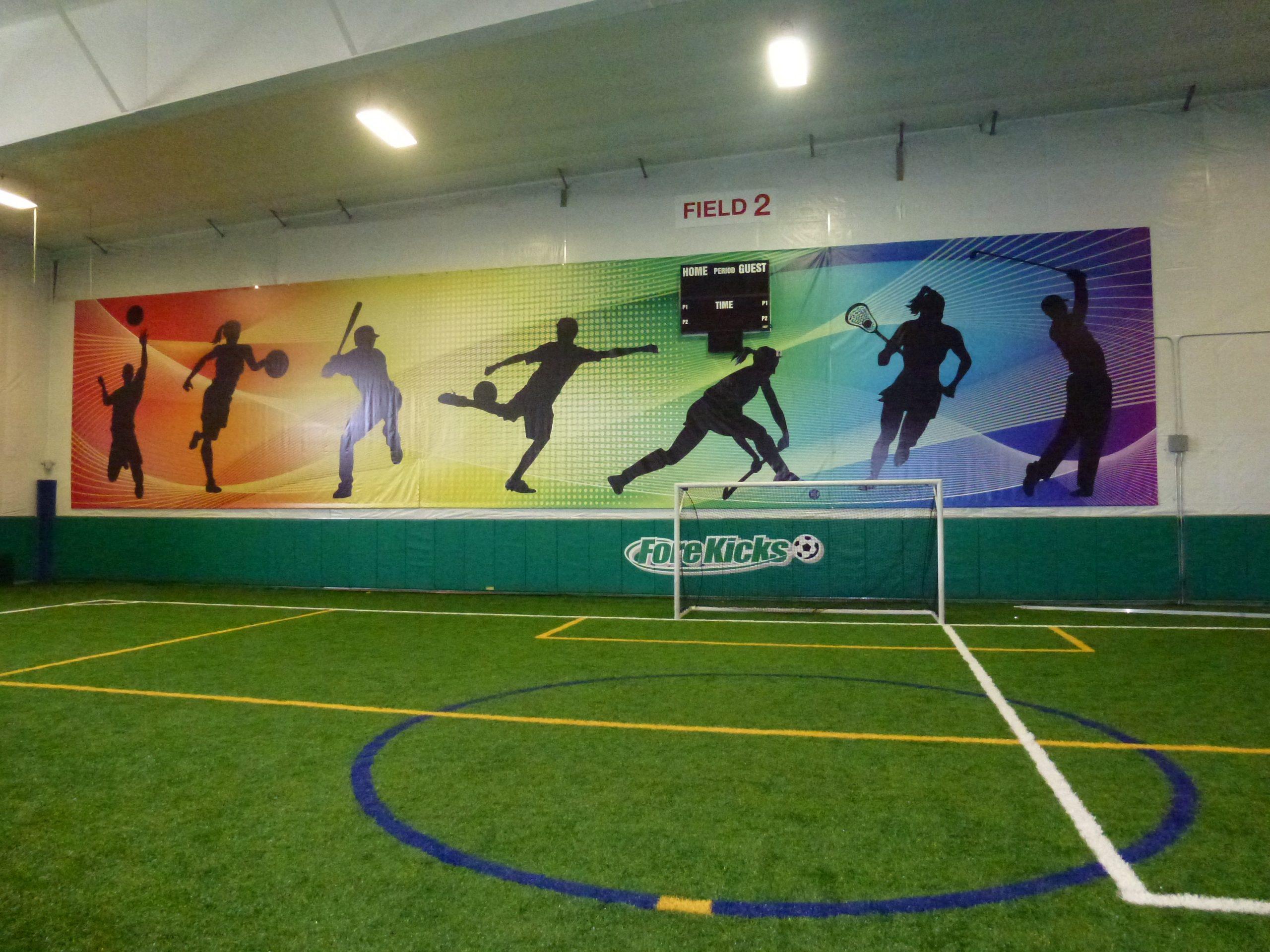 soccer wall banner