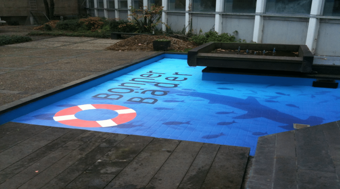 artificial pond art