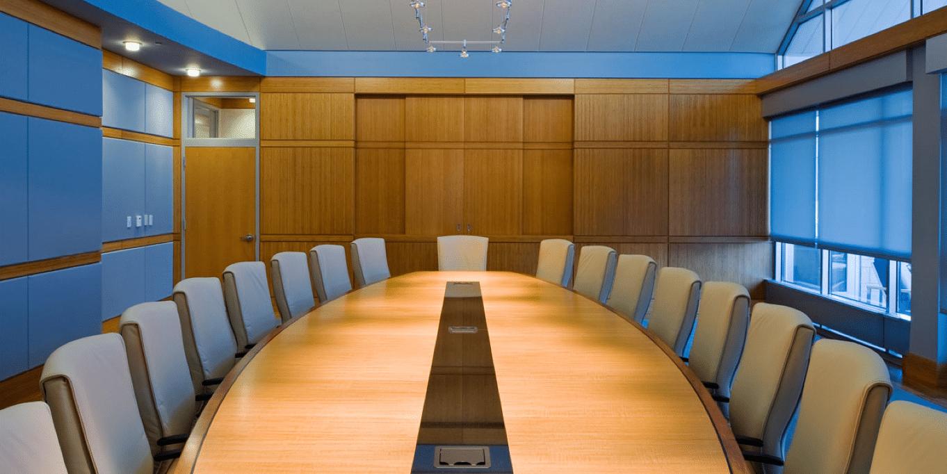 meeting room installation