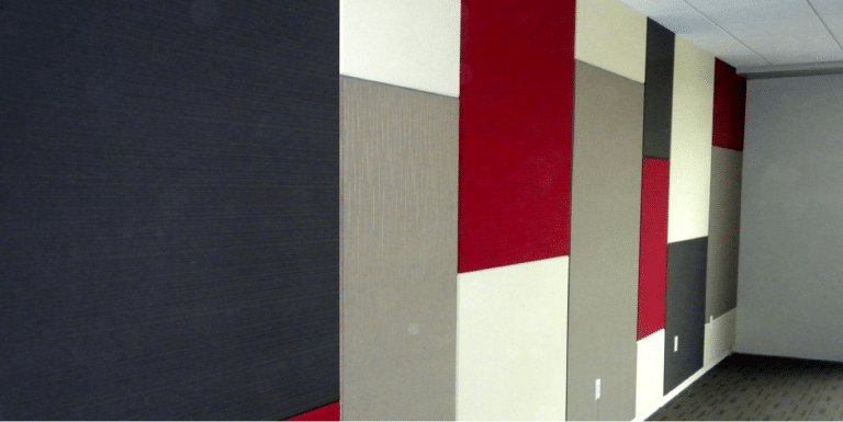 acoustic wall panel installation