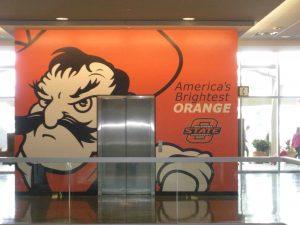 Oklahoma State University custom installation