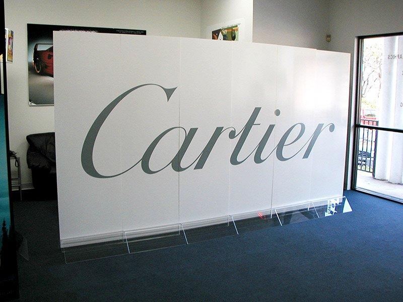 cartier backdrop logo