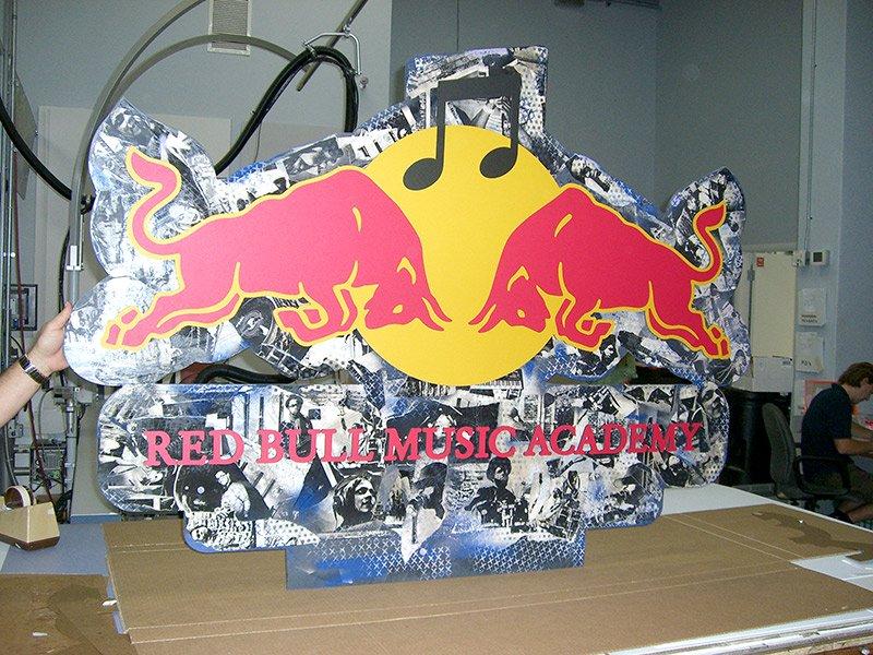 red bull custom advertisement