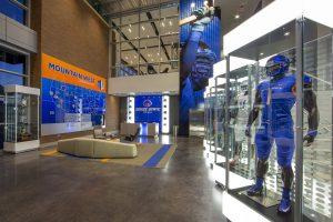 BSU football installation