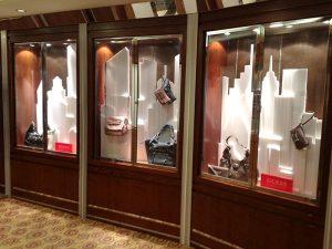 window display for purses