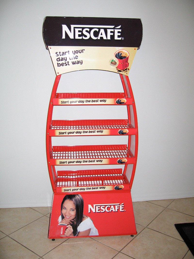 nescafe display