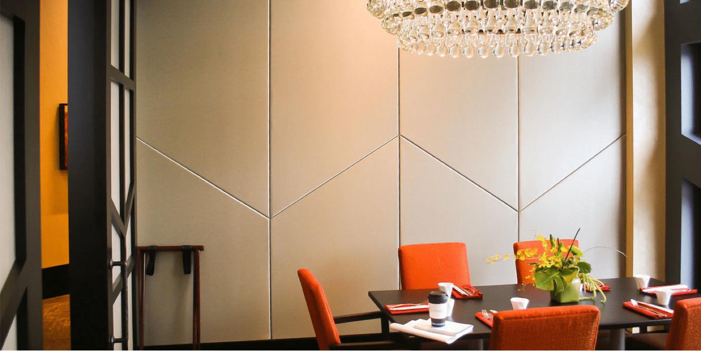 luxury room installation