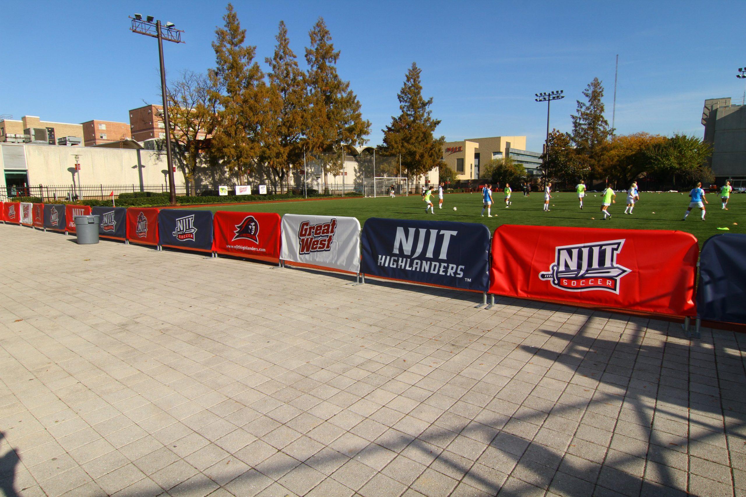 soccer barricades