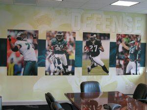 football wall graphics