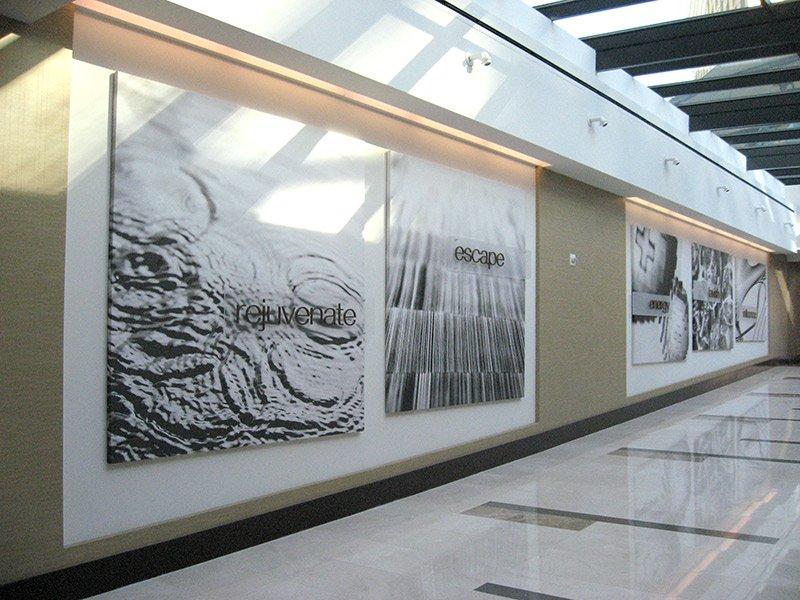 Vdara Hallway Super Graphics