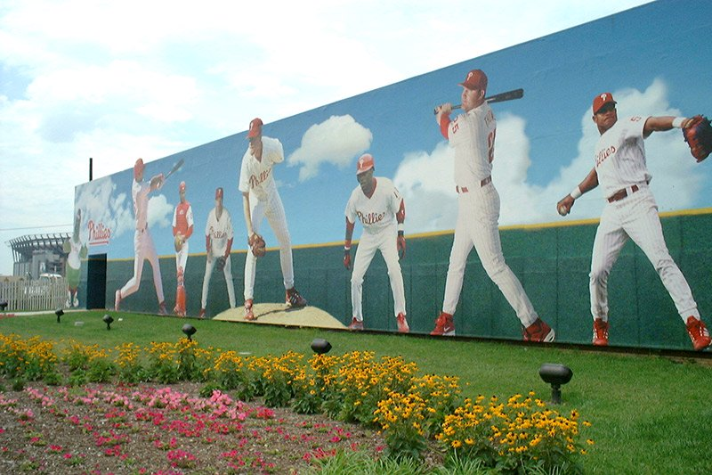 Phillies Wall Wrap